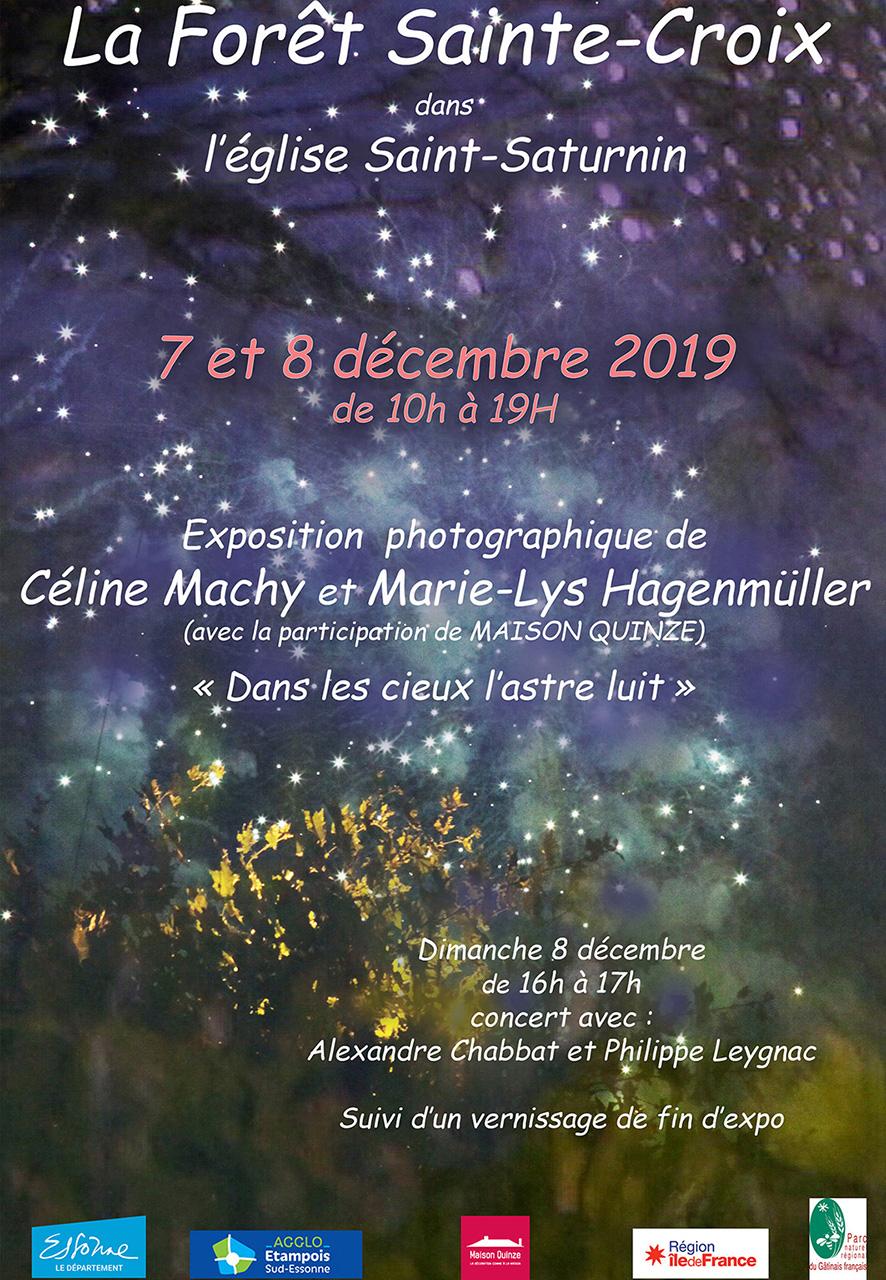 Forêt Sainte-Croix article presse maison quinze exposition
